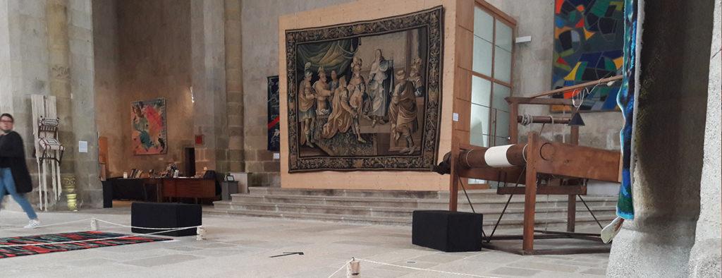 Exposition de tapisseries · Verdure marchoise © OT Aubusson-Felletin