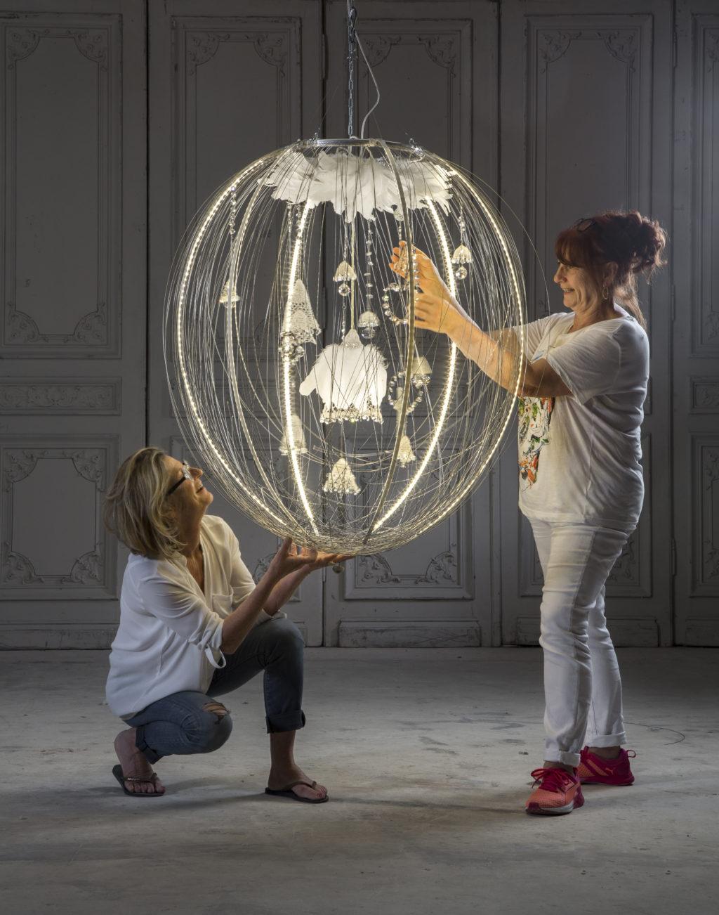 Véronique Carlotti & Isabelle Royer © DR