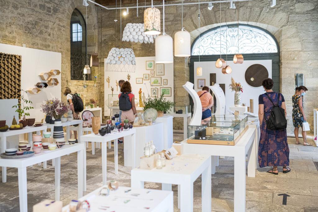 Boutique à la Maison des Métiers d'Art · Pézenas