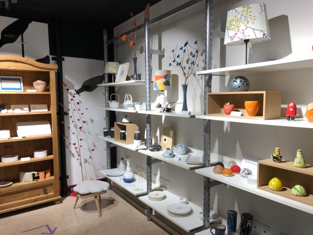 Boutique du Village des Métiers d'Art · Desvres